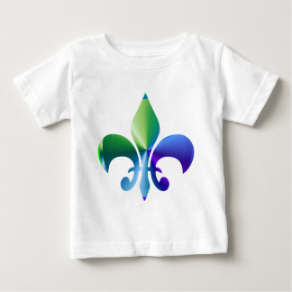 Fleur-de-Lis:  Signature Patterns by Naveen Baby T-Shirt