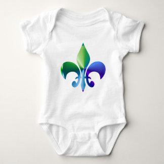 Fleur-de-Lis:  Signature Patterns by Naveen Infant Creeper