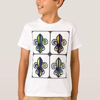 FLEUR DE LIS SKETCH COLLAGE PRINT by jill T-Shirt