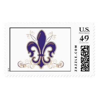 Fleur De Lis Stamp 2
