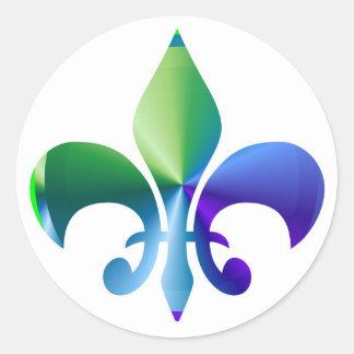 Fleur-de-Lis Stickers