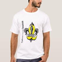 Fleur De Lis Testicular Cancer Hope T-Shirt