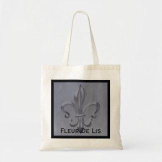 """Fleur De Lis"" Tote Bag"