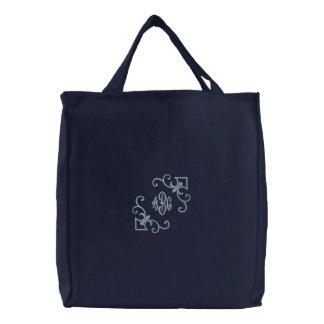 Fleur De Lis tote Monogram Canvas Bag