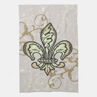 Fleur De lis towel