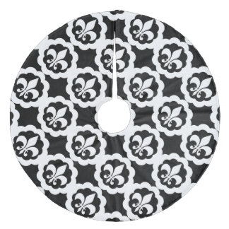 fleur de lis christmas tree skirts zazzle