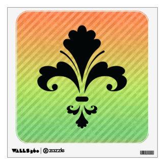 Fleur de lis room stickers