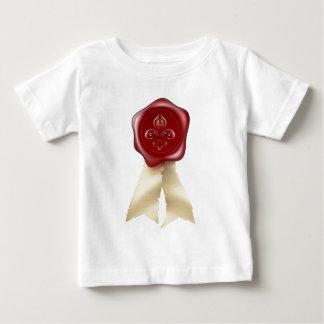 Fleur-de-lis Wax Seal graphic Tee Shirt