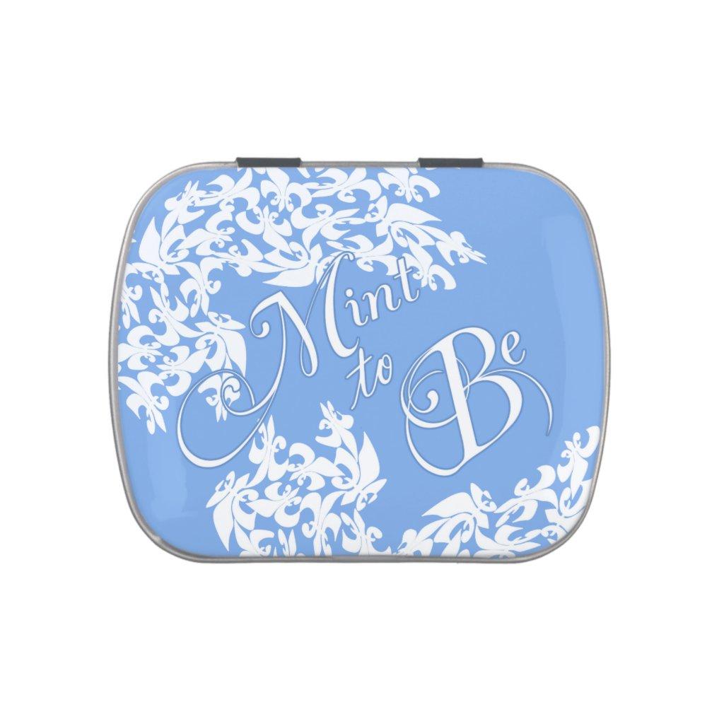 Fleur de Lis Wedding Mints 10 candy tins.