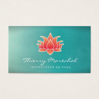Fleur de Lotus Carte De Visite Business Card