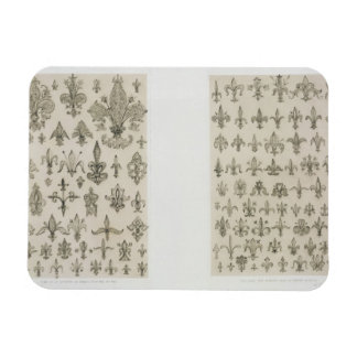 Fleur de Lys designs from every age and from all a Flexible Magnets