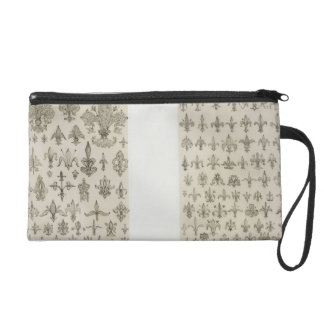 Fleur de Lys designs from every age and from all a Wristlet Purse