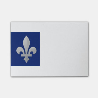 Fleur de lys Floral Pattern Small Note Pad Post-it® Notes
