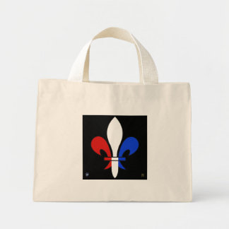FLEUR-DE-LYS MINI TOTE BAG