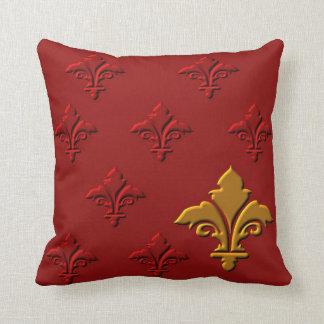 Fleur-de-Lys Throw Pillow