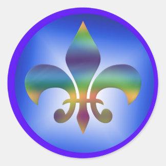 Fleur de Lys Stickers