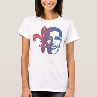 Fleur-de-Obama, red2blue T-Shirt