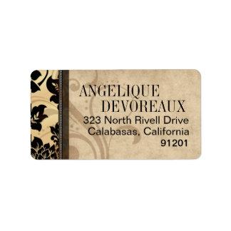Fleur de Paris Eiffel Tower   sand Label