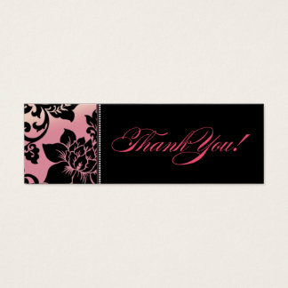Fleur de Paris Gift Tag | pink