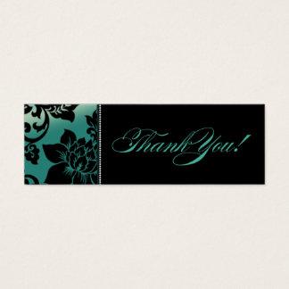 Fleur de Paris Gift Tag | teal