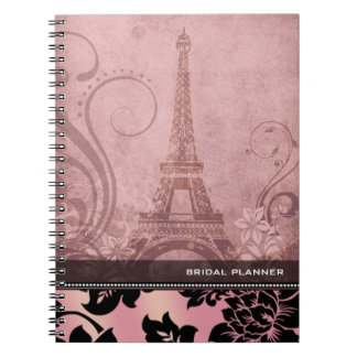 Fleur de Paris | pink Bridal Planner Notebook