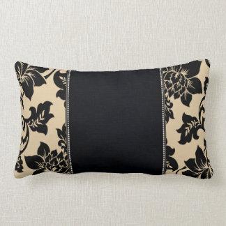 Fleur de Paris   sand Lumbar Pillow