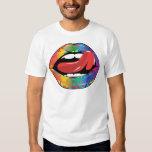 Fleur De Rainbow Licking Lips T-Shirt