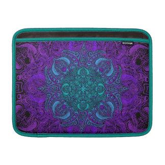 Fleur de Swirl - Choose Your Color! MacBook Air Sleeve
