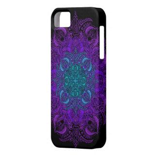 ¡Fleur de Swirl - elija su color! iPhone 5 Fundas