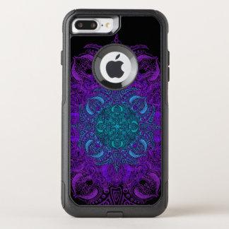 Fleur de Swirl OtterBox Commuter iPhone 8 Plus/7 Plus Case