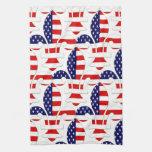 Fleur de USA kitchen towel