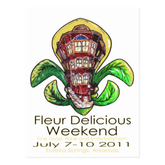 Fleur Delicious Weekend poster Postcard