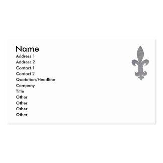 Fleur di lis business card... business card