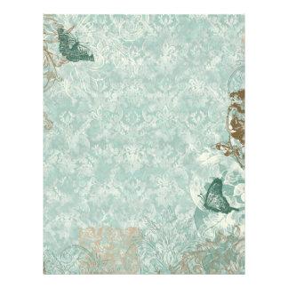 Fleur di Lys Damask - Stationery & Recipe sheets Letterhead