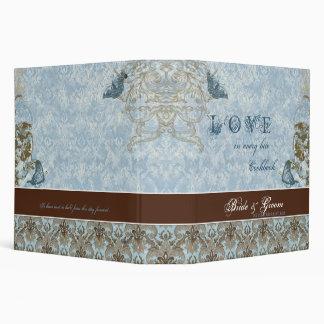 Fleur di Lys Damask - Wedding Cookbook Binder