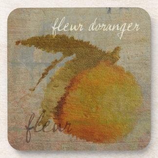 Fleur D'oranger Drink Coaster
