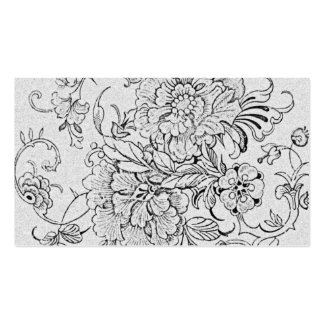 Fleur Double-Sided Standard Business Cards (Pack Of 100)