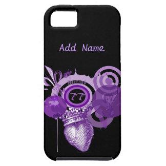 Fleur Heart Graphic Custom iPhone Case