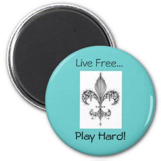 ¡fleur, juego difícilmente! , Libre vivo… Iman De Nevera