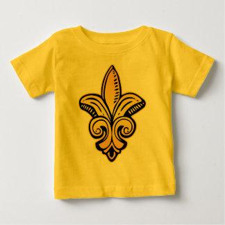 Fleur Medieval - Gold Baby T-Shirt