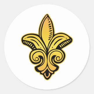 Fleur Medieval - Gold Stickers