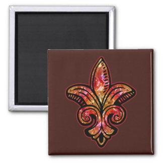 Fleur Medieval - Red Magnet