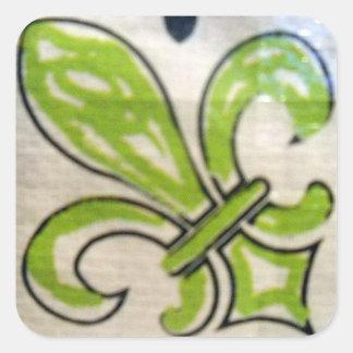 fleur-tile-sticker-lime