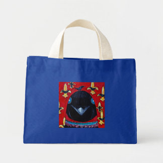 fleurdcrow, fleur d crows mini tote bag
