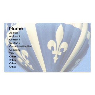 Fleurdelisé template Double-Sided standard business cards (Pack of 100)
