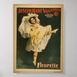 Fleurette Póster