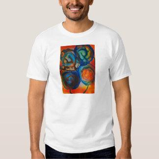 Fleurs abstraites dans le soleil tee shirt