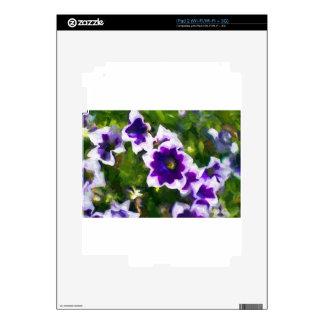 fleurs de los les iPad 2 calcomanía