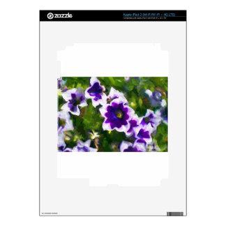 fleurs de los les iPad 3 pegatina skin