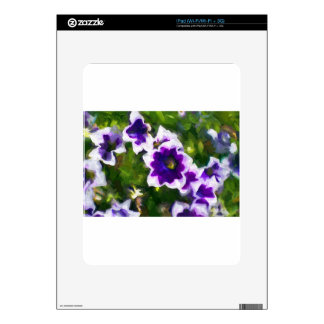 fleurs de los les skins para iPad